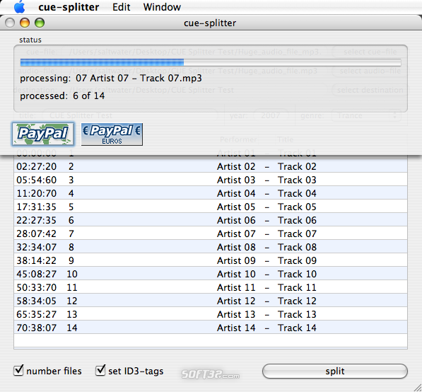 cue-splitter Screenshot 2