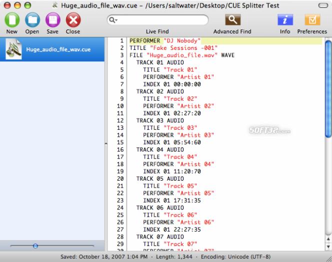 cue-splitter Screenshot 5