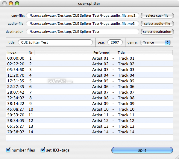 cue-splitter Screenshot 1