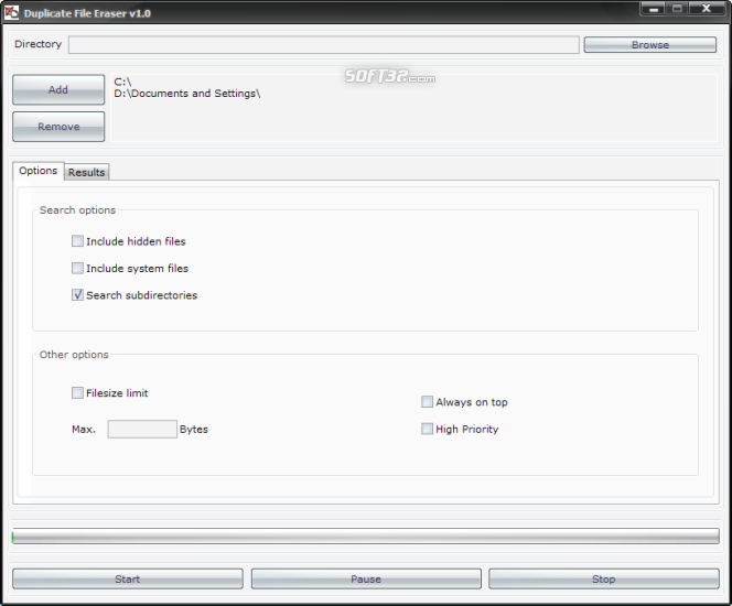 Duplicate File Eraser Screenshot 5
