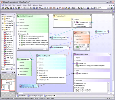 Altova SchemaAgent Screenshot