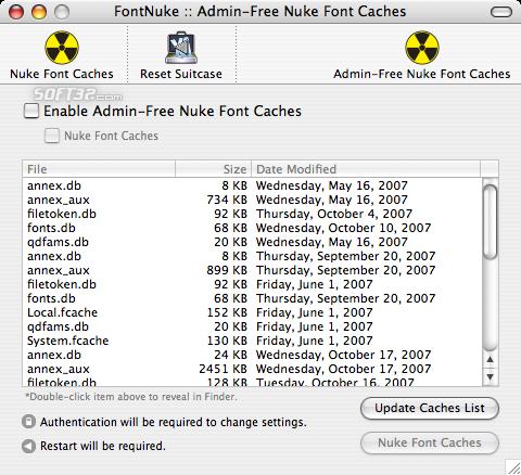 FontNuke Screenshot 3