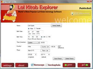 Lal Kitab Explorer Screenshot 1