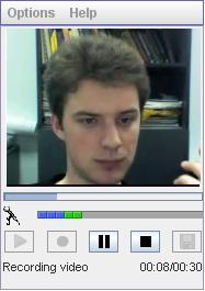 Video Recording Applet SDK Screenshot