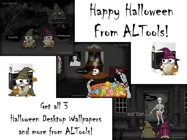 ALTools Haunted House Halloween Desktops Screenshot 2