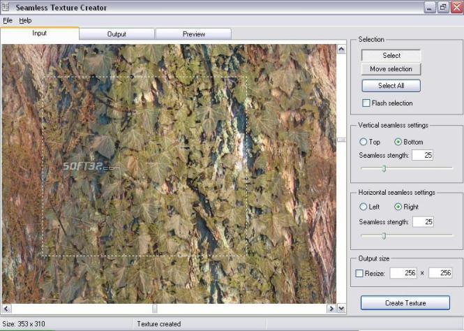 Seamless Texture Creator Screenshot 2