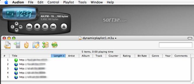 Audion Screenshot 2