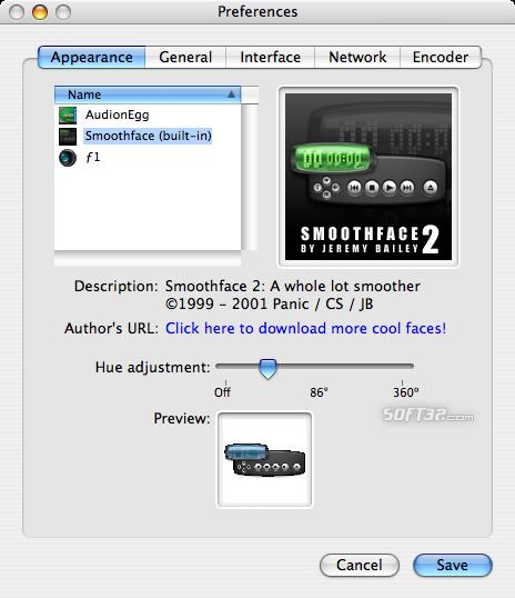 Audion Screenshot 3