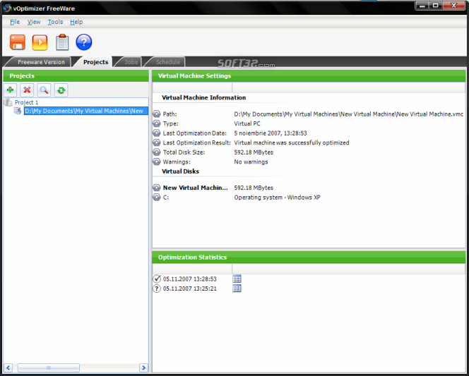 vOptimizer FreeWare Screenshot 2