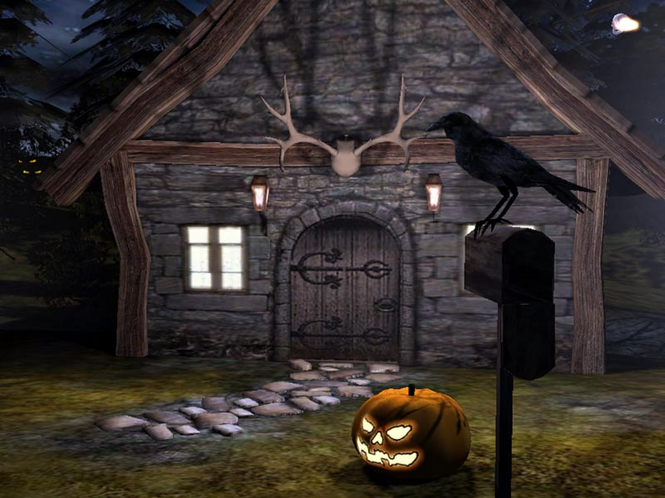 Halloween Time 3D Screensaver Screenshot