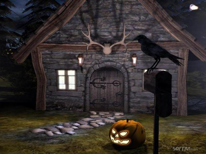 Halloween Time 3D Screensaver Screenshot 2