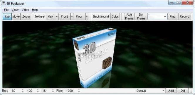 3D Packager Screenshot