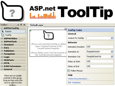 ASPNetToolTip Screenshot