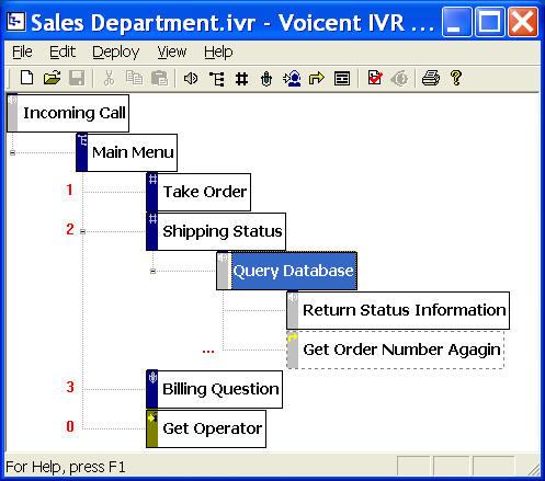 Voicent IVR Studio Screenshot