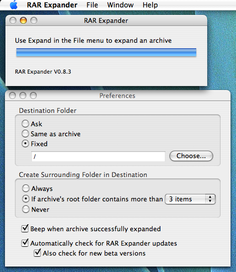 Download RAR Expander 0 8 5 beta 4 for Mac Free