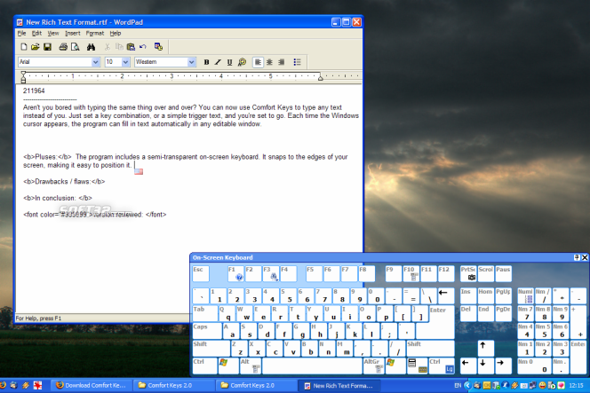 Comfort Keys Pro Screenshot 4
