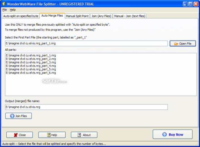 File Splitter PRO Screenshot 3