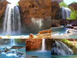 Indian Waterfall Video Screensaver Screenshot 1