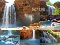 Indian Waterfall Video Screensaver Screenshot 2