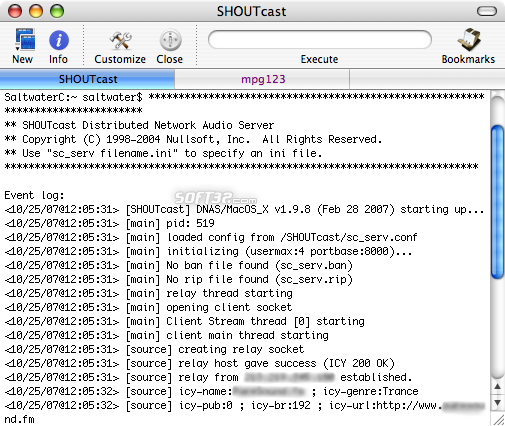 SHOUTcast Screenshot 2