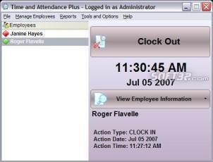 Time and Attendance Plus Screenshot 2