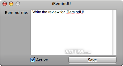 iRemindU Screenshot