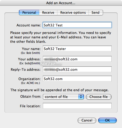 GNUMail Screenshot 2