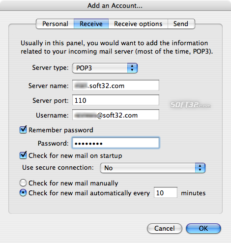 GNUMail Screenshot 3