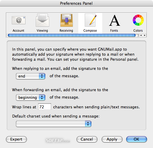 GNUMail Screenshot 8