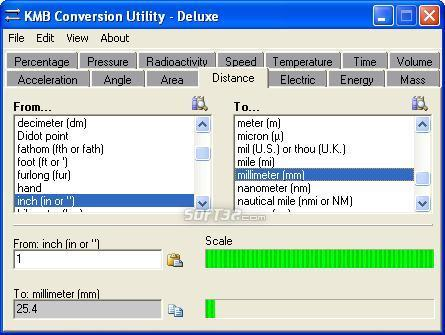 KMB Conversion Utility Screenshot 2