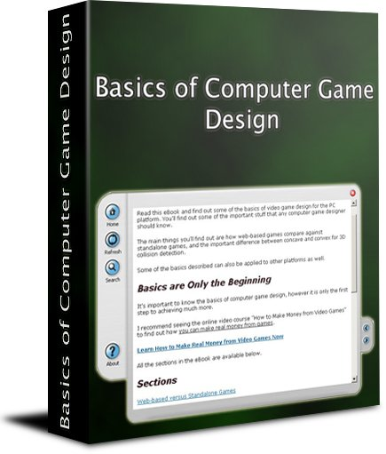 Basics of Computer Game Design eBook Screenshot 1