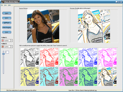 Photo Sketch Maker Screenshot