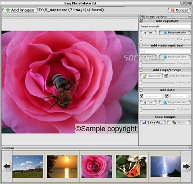EasySector Batch Watermark Screenshot 2