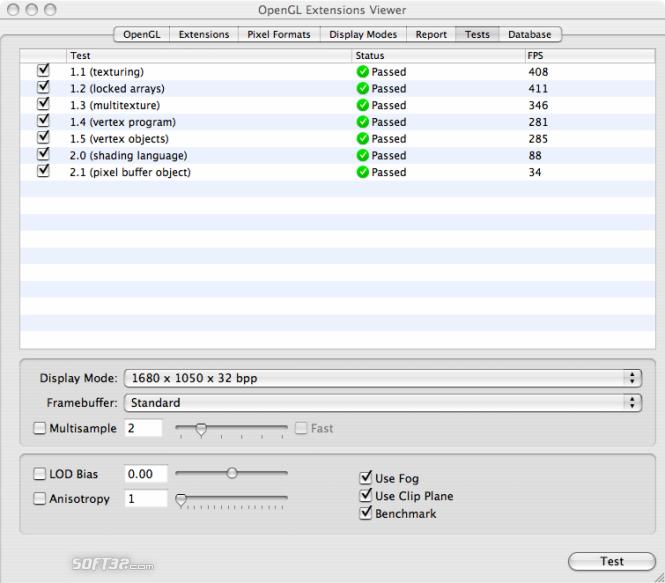 OpenGL Extensions Viewer Screenshot 10
