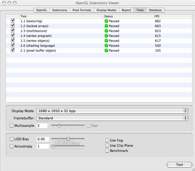 OpenGL Extensions Viewer Screenshot 9