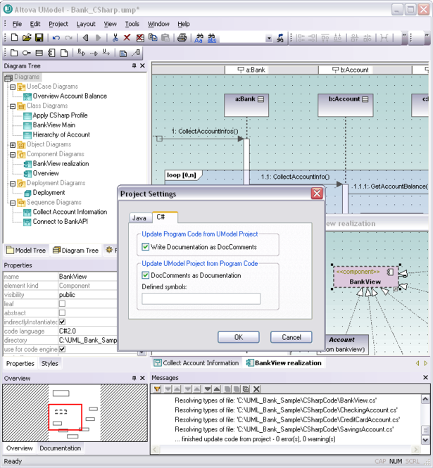 Altova UModel Professional Edition Screenshot