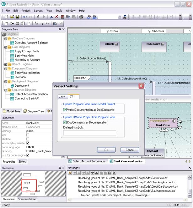 Altova UModel Professional Edition Screenshot 1