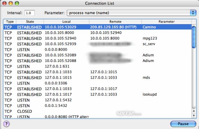 IPNetMonitorX Screenshot 3