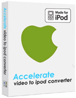 Acc-Soft Video to iPod Converter Screenshot 1