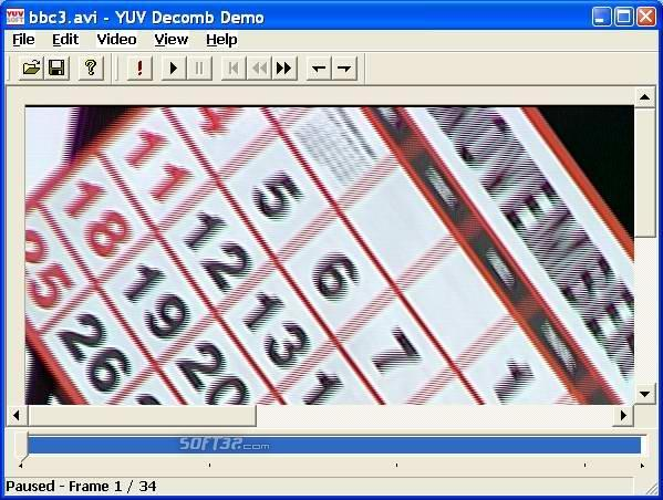 YUVsoft Decomb (Deinterlace) Demo Screenshot 3