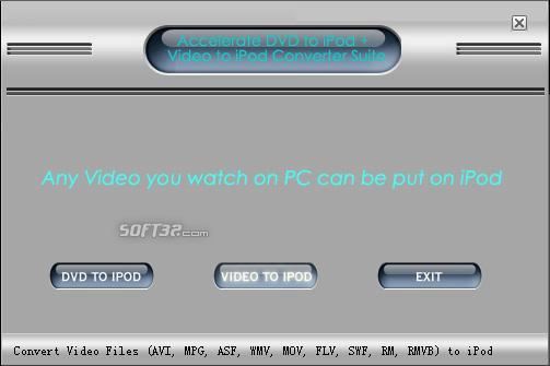 Acc-Soft iPod Converter Suite Screenshot 3