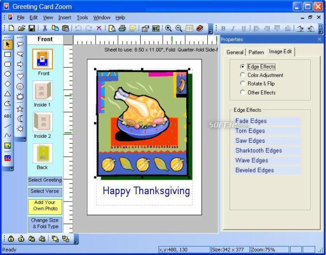 Greeting Card Zoom Screenshot 3