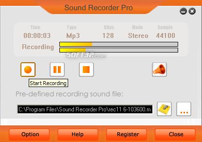 Sound Recorder Pro Screenshot 2