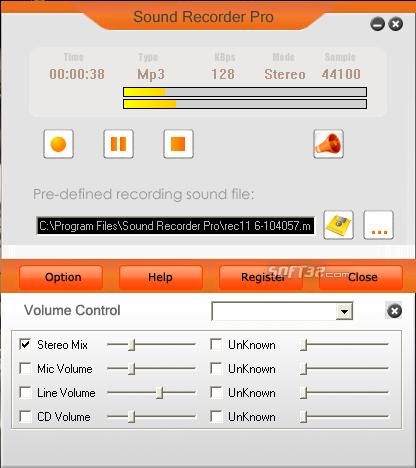 Sound Recorder Pro Screenshot 4
