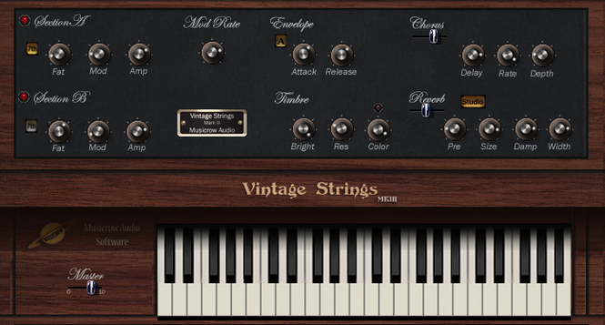 Vintage Strings MkIII Screenshot