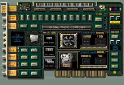 Virtual Music Composer Screenshot 1