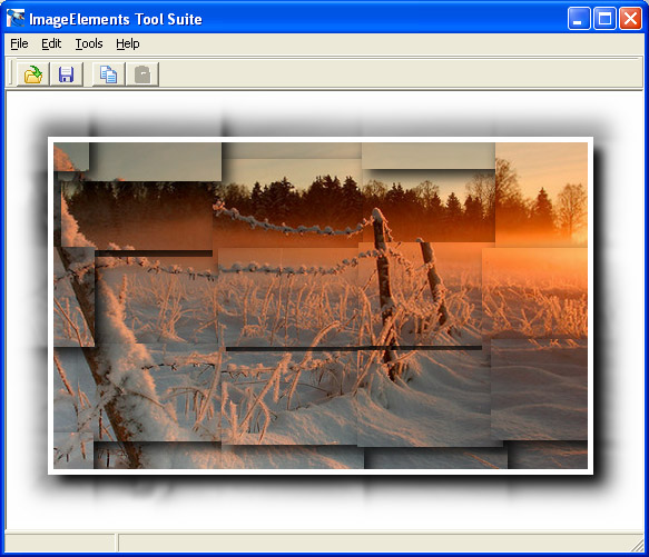 ImageElements Photo Suite Screenshot