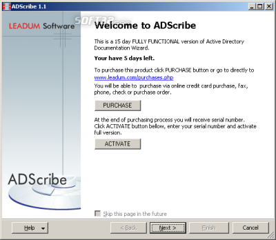ADScribe Screenshot 2