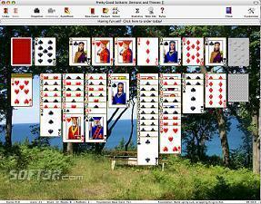 Pretty Good Solitaire Mac Edition Screenshot 2