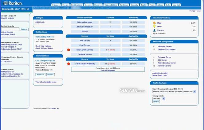 CommandCenter-NOC Screenshot 1